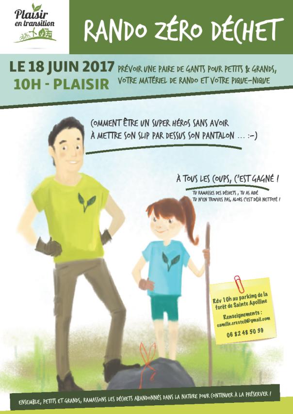 Affiche Ramassage des déchets 062017