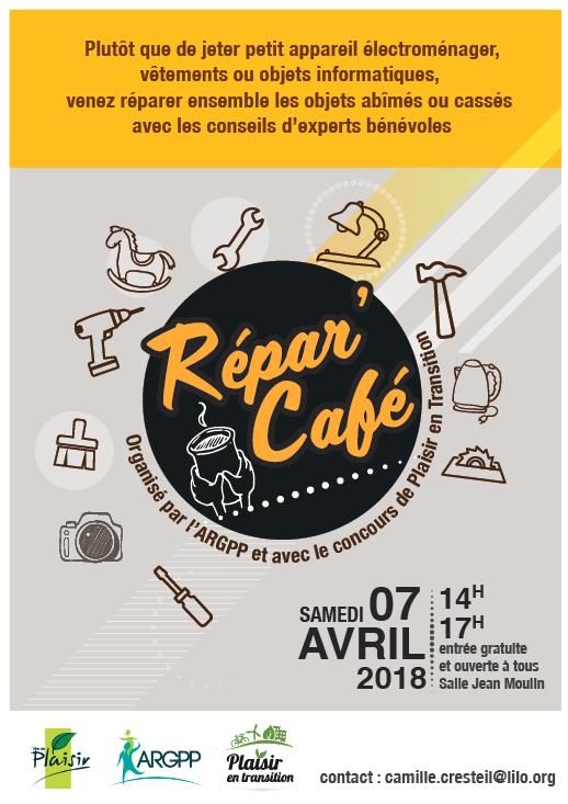 Affiche répare café Avril 2018