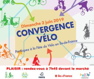 Convergence francilienne 2019. Départ de Plaisir (78)